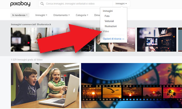 pixabay video copertina